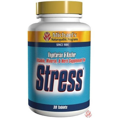 Michael's Naturopathic Stress (Naturopathic Dietary Supplement) (Replaced upc 755929007073) Michaels Naturopathic 30 Tabs
