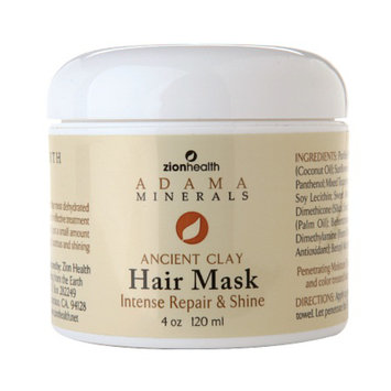 Zion Health Adama Minerals Ancient Clay Hair Mask
