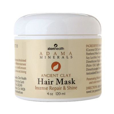 Zion Health Adama Minerals Ancient Clay Hair Mask