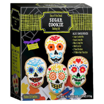 BRAND CASTLE LLC Day of the Dead Sugar Cookie Kit 18.18 oz