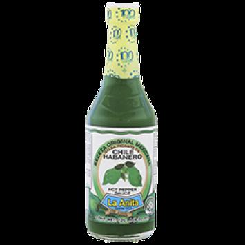 La Anita Habanero Green Pepper Sauce 7.