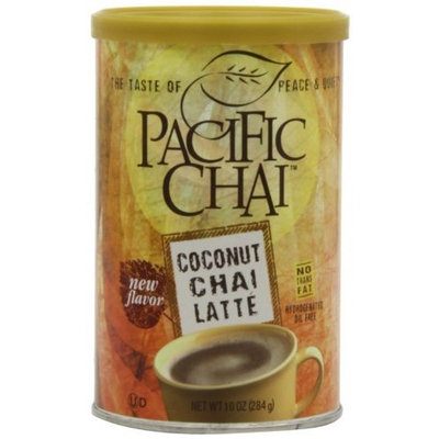 Pacific Chai Tea, Coconut Chai Latte, 10-Ounce Cans (Pack of 6)