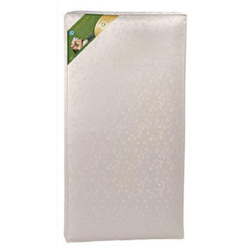 Sealy Soybean Plush Foam Crib Mattress, 1 ea