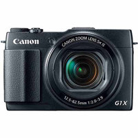 Canon PowerShot G1X Mark II 12.8MP Digital Camera with 5X Optical
