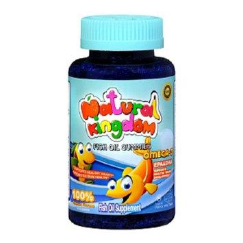 Natural Kingdom Children's Fish Oil Kosher Supplement Gummies