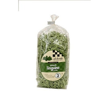 Al Dente Spinach Linguine, 12-Ounce Bag (Pack of 6)