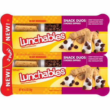 Lunchables Snack Duos S'mores Dippers