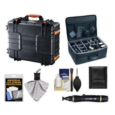 Vanguard Supreme 46F Waterproof and Airtight Hard Case with Foam with Divider Bag + Accessory Kit