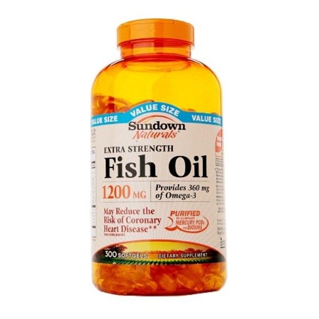 Sundown Naturals Extra Strength Fish Oil 1200mg