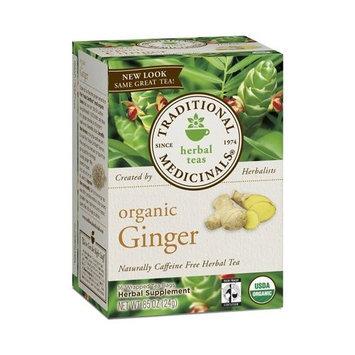 Traditional Medicinals TRADITIONAL MEDICINAL'S Organic Ginger Tea 16 BAG