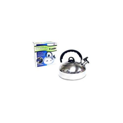Tectron KT061 Stainless Steel Whistling Kettle, Pack Of 8