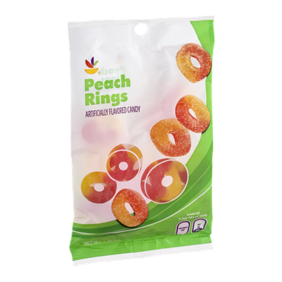 Ahold Peach Rings Candy