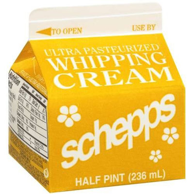 Schepps Fresh Ultra Pasteurized Heavy Whipping Cream, .5 pt