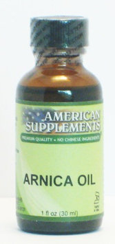 Arnica Oil No Chinese Ingredients American Supplements 1 oz Liquid