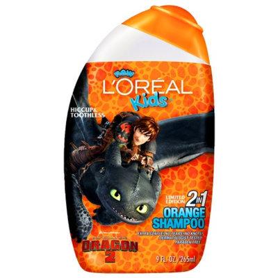 L'Oréal Paris Kids Madagascar 3 Extra Gentle 2-in-1 Shampoo Mango Orange