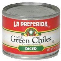 La Preferida Diced Green Chiles