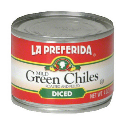 La Preferida Diced Green Chiles