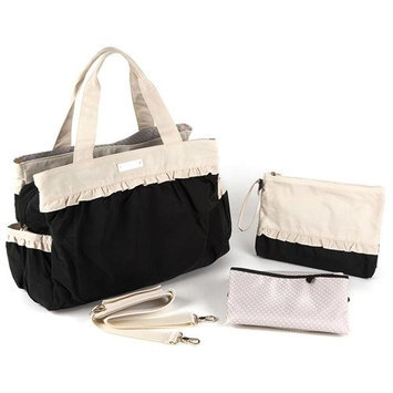 Thea Thea, Llc. THEA THEA ALICE BABY BAG IN BLACK