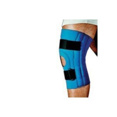 Sportaid, Knee Brace, Open Patella, Blue Neoprene, X Large, size: 17-19 inches - 1 ea