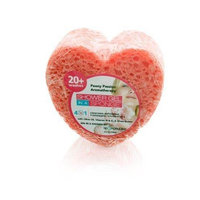 Spongeables Shower Gel in a Sponge (Red Heart) 20+ Uses Peony Passion Aromatherapy