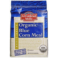 Arrowhead Mills Organic Blue Corn Meal, 32 oz