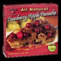 Apple Villa Cranberry Apple Pancake All Natural