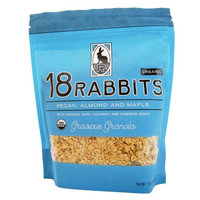 18 Rabbits Organic Gracious Granola, Pecan, Almond and Maple, 12-Ounce Bags (Pack of 3)