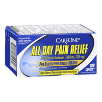 CareOne All Day Pain Relief Pain Reliever/Fever Reducer - 100 CT