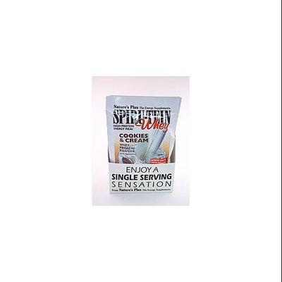 Spirutein Whey Cookies & Cream Nature's Plus 8 Pack