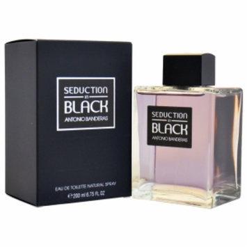 Antonio Banderas Seduction in Black Eau de Toilette Spray, 6.75 fl oz