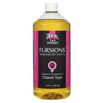 Top Performance Fursions Chanel No-1/2 Dog Cologne Refill, 32-Ounce
