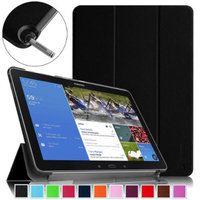 Fintie SlimShell Case Cover Ultra Slim Lightweight Stand for Samsung Galaxy Note Pro 12.2 & Tab Pro 12.2 Tablet, Black