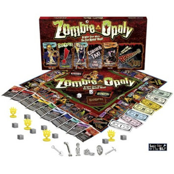 Late for the Sky Productions Late for the Sky Zombie-opoly Board Game