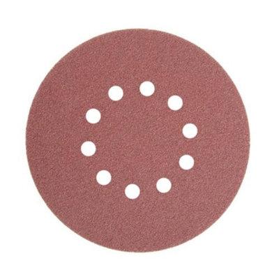 ALEKO® 80 GRIT 10-Hole Sand Paper Sanding Discs for Drywall Sander 10 Pack