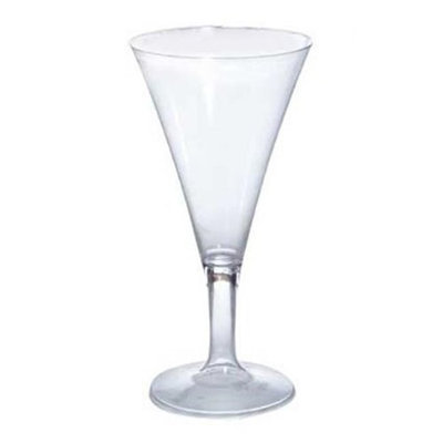 Fineline Settings 2 oz Tyny 1 Piece Plastic Champagne Flutes 96 CT