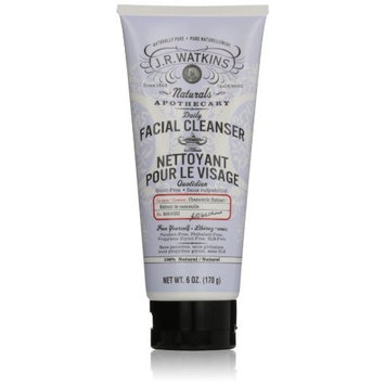J.R. Watkins Daily Facial Cleanser, 6 Ounce