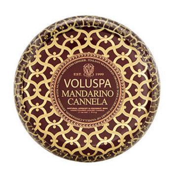 Voluspa - Maison Rouge Printed Tin - Mandarino Cannela