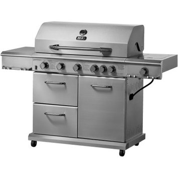 Blue Rhino Global Sourcing, Inc. Better Homes and Gardens 6-Burner Gas Grill, Stainless Steel
