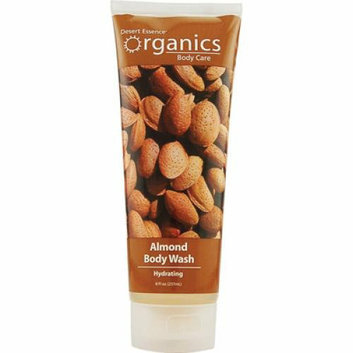 Desert Essence Body Wash Almond 8 fl oz