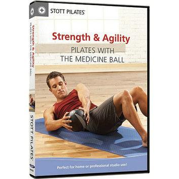 STOTT PILATES DVD - Strength & Agility Pilates with the Medicine Ball
