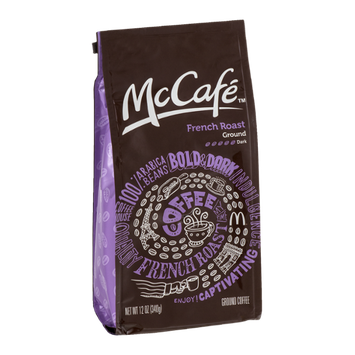 McCafe Ground Coffee French Roast Dark