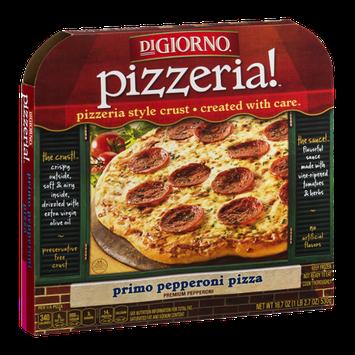 DiGiorno Pizzeria! Primo Pepperoni Pizza