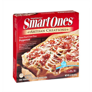 Weight Watchers Smart Ones Artisan Creations Pepperoni Stone-Fired Crust Pizza