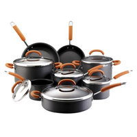Rachael Ray Hard Anodized Cookware Set - 14 piece