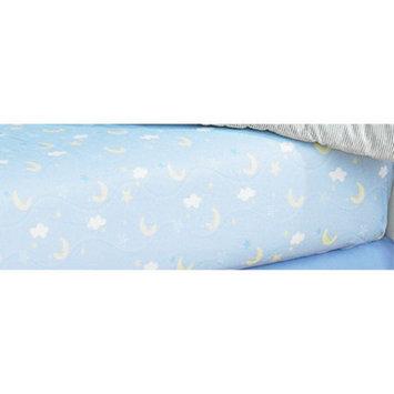 Laugh, Giggle & Smile Wish I May Cotton Crib Sheet