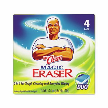 Procter & Gamble Commercial Mr. Clean Magic Eraser Duo Pad