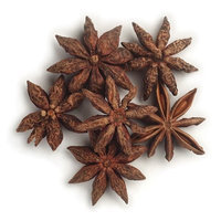 Frontier Star Anise Whole, Sele Grade (minimum 75% Whole Stars), 16 Ounce Bag