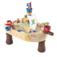 Little Tikes Anchors Away Pirate Ship, Brown/Tan, 1 ea