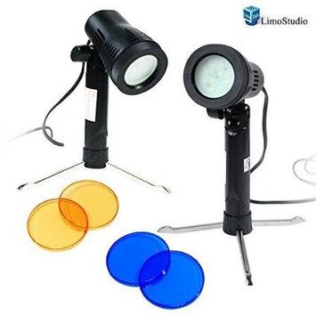 LimoStudio Photography Continuous 600 Lumen LED Light Set for Table Top Studio Portable Lighting Kit