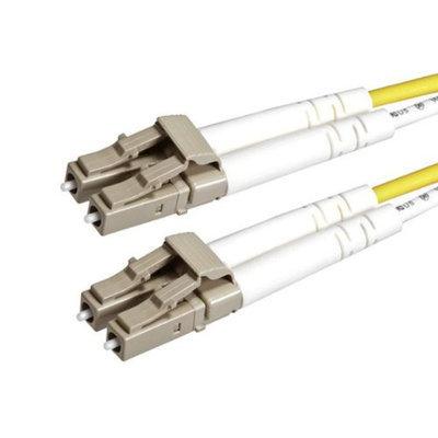 Monoprice Fiber Optic Cable, LC/LC, OM2, Multi Mode, Duplex - 3 meter (50/125 Type) - Orange